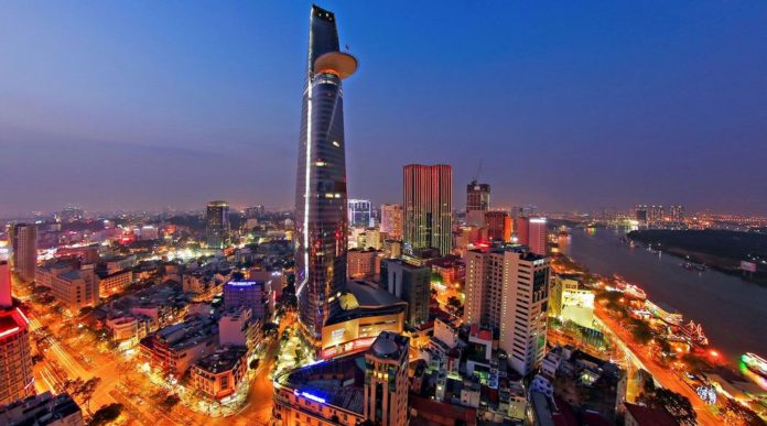 Bitexco Financial Tower & Sky Deck in Ho Chi Minh