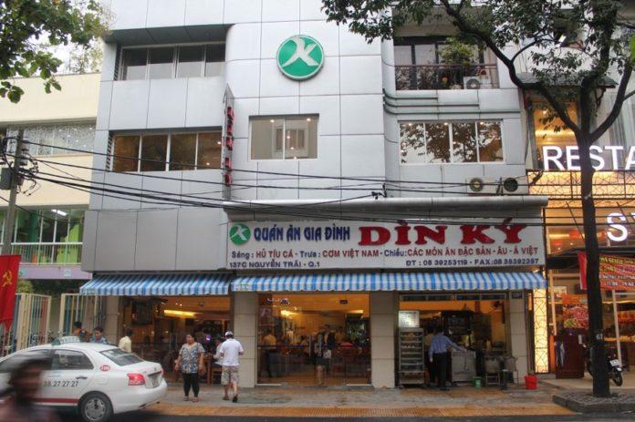 Din Ky Restaurant Saigon