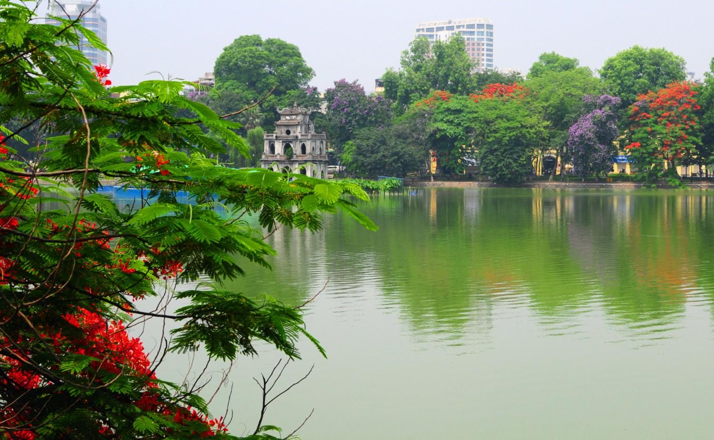 hoan kiem lake ngoc son temple in hanoi guide vietnam. Black Bedroom Furniture Sets. Home Design Ideas
