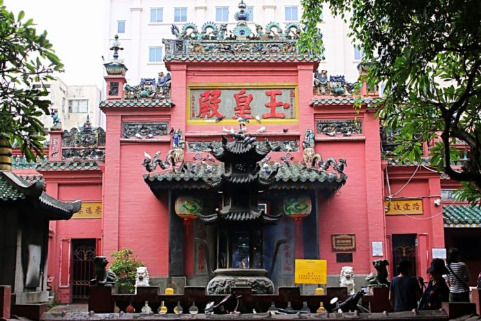 Jade Emperor Pagoda in Ho Chi Minh