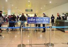 Health quarantine in airport