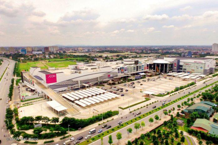 Aeon Mall in Long Bien,