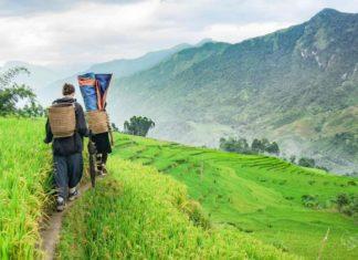Walking through the villages in Sapa