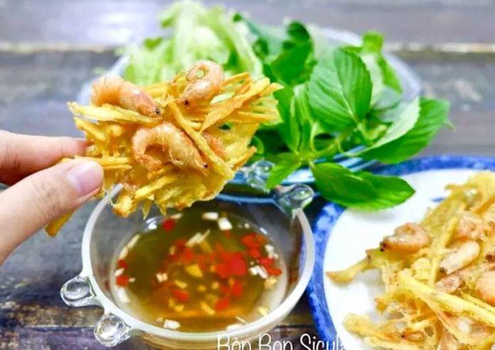 fried shrimp cake