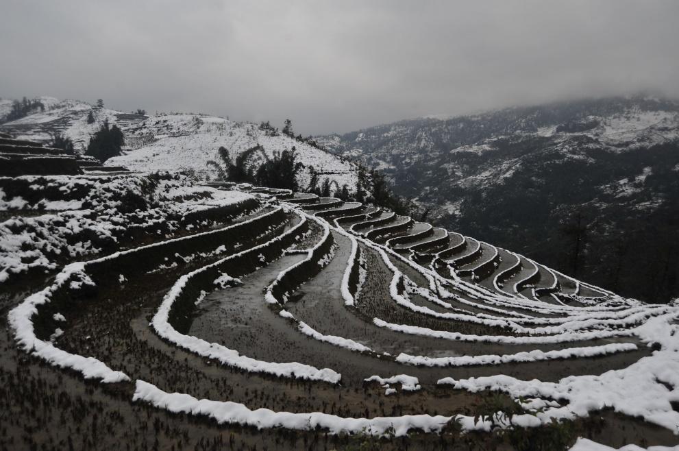 Snow in Sapa